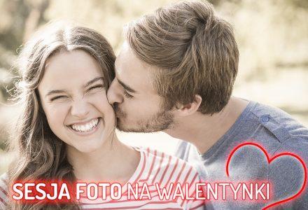 Walentynki - sesja fotograficzna na prezent