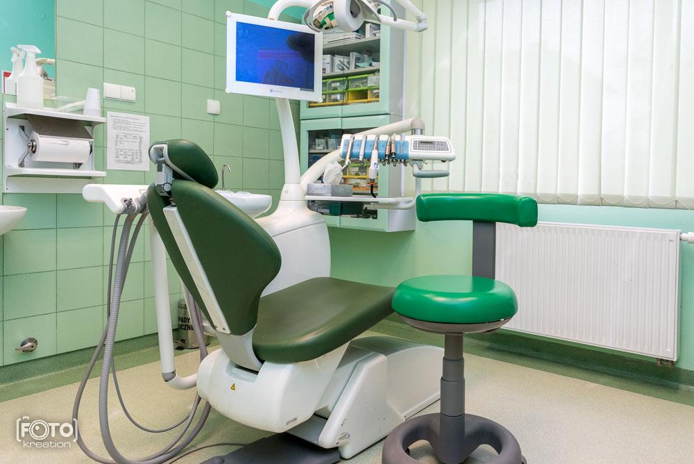 Sesja fotograficzna dla gabinetu stomatologicznego